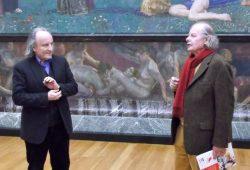 Lotter-Vorsitzender Ulrich Becker (rechts) übergibt Dr. Schmidt (links) die Jubiläumsschrift seines Vereins und bedankt sich für die enge Zusammenarbeit in den zurückliegenden Jahren. Foto: Lotter-Gesellschaft