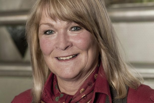 Iris Kloppich, Vorsitzende DGB Sachsen. Foto: Marcus Karsten
