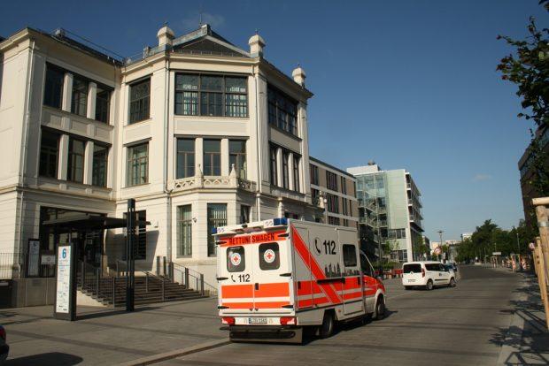 Leipzigs Uni-Kliniken an der Liebigstraße. Foto: Ralf Julke