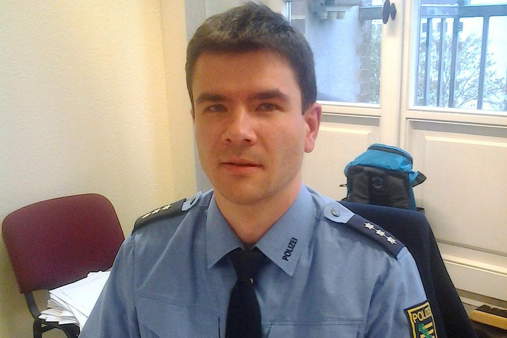 Polizeisprecher Andreas Loepki. Foto: Lucas Böhme