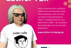 Bach als bekennender Luther-Fan? (Ausschnitt) Grafik: LTM