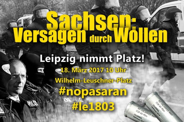 "Foto: Aktionsnetzwerk ""Leipzig nimmt Platz"""