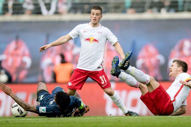 Die Leipziger bissen sich an der Defensive der Wolfsburger die Zähne aus. Foto: RB Leipzig
