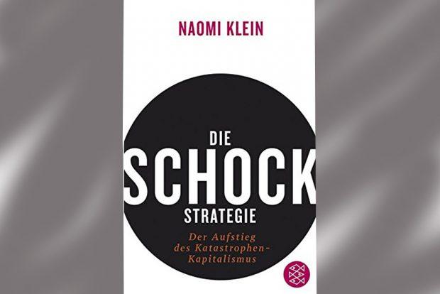 Naomi Klein: Die Schock-Strategie. Cover: Fischer Verlag