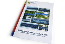 Straßenabschnittsverzeichnis 2017. Foto: Ralf Julke