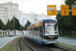 Straßenbahn am Rossplatz. Foto: Ralf Julke