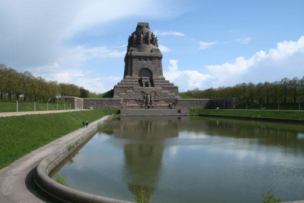 Anschubfinanzierung durch Spenden und Tombola: das Völkerschlachtdenkmal. Foto: Ralf Julke