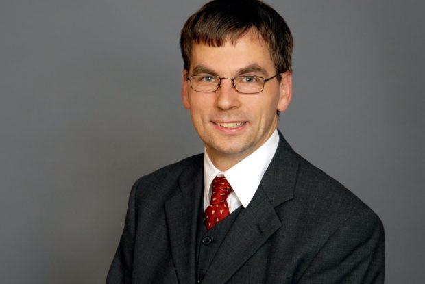 Volker Holzendorf (B90/Die Grünen) ist 1972 geboren und Biometriker. Foto: B90/Die Grünen