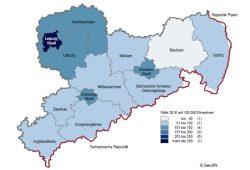 Wohnungseinbrüche in Sachsen. Grafik: Freistaat Sachsen, SMI