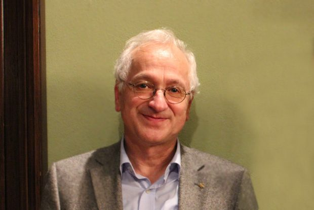Pfarrer i.R. Christian Wolff. Foto: forum thomanum