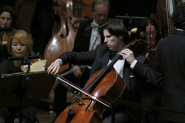 Cellist Daniel Müller-Schott. Foto: Alexander Böhm