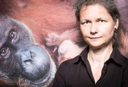 Preisträgerin und Vereinsvorsitzende Julia Cissewski. Foto: Ronny Barr, Max-Planck-Institut für evolutionäre Anthropologie