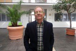 Picador-Gastprofessor Tom Drury. Foto: Stefan Schubert/Universität Leipzig