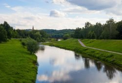 Mulde bei Zwickau. Foto: Alexander Klich