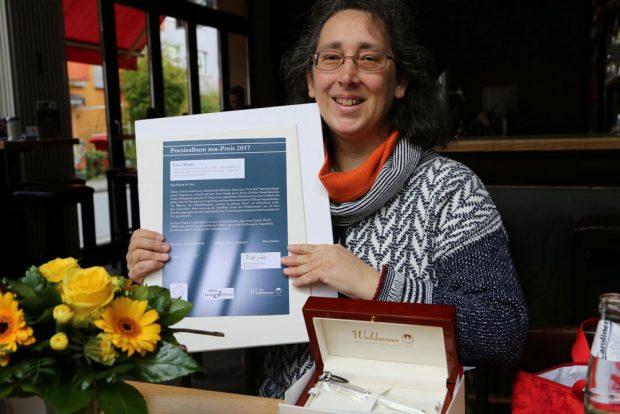 Die Bielefelder Lyrikerin und Autorin Erica Natale. Foto: Karin Lichtenberger