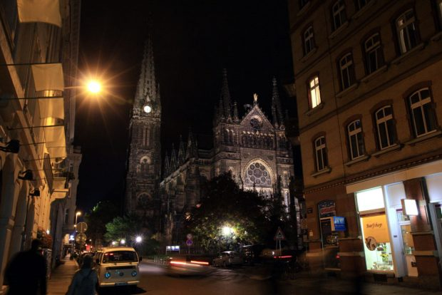 Die Wirkungsstätte von Pfarrer Dorn. Foto: Michael Freitag