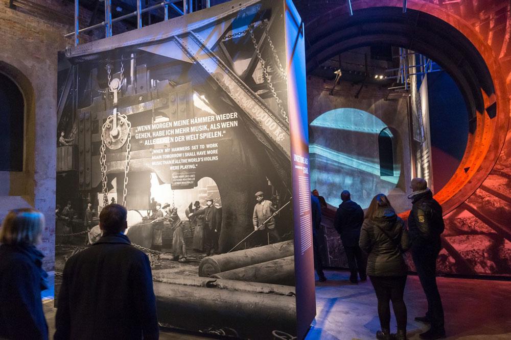 Ausstellung zum Panorama TITANIC. Foto: Tom Schulze/asisi