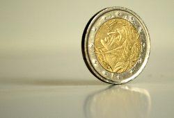 Dante auf der italienischen Euro-Münze. Foto: Ralf Julke