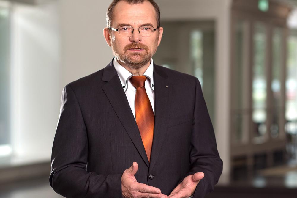 Klaus-Peter Hansen. Foto: Arbeitsagentur Sachsen
