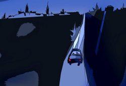 Die Fahrt durch die Nacht. Grafik: L-IZ