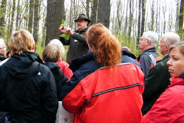 Kräuterwanderung: Foto: Wildpark Leipzig