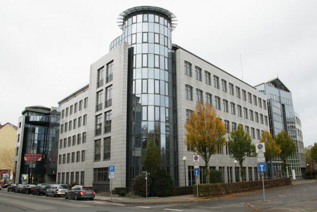Bis 2008 Regierungspräsidium, heute Sitz der Landesdirektion Leipzig. Foto: Ralf Julke