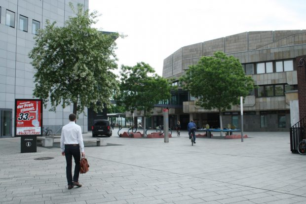 Der künftige Kurt-Masur-Platz. Foto: Ralf Julke