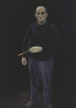 Wolfgang Mattheuer: Selbstporträt, 1971. Foto: Galerie Schwind