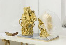 Atelieransicht Sebastian Neeb. Foto: Galerie Reiter