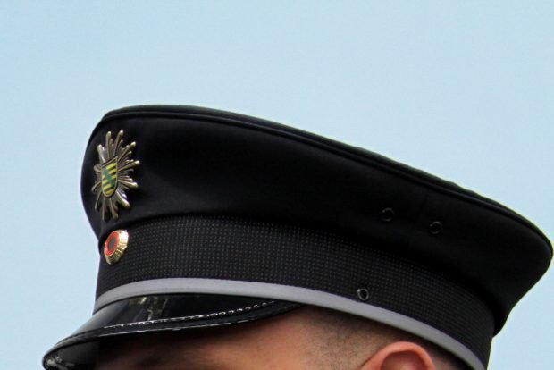 Hauptsache, die Uniform ist schnieke. Foto: Matthias Weidemann