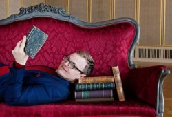 Das rote Sofa. Foto: Kirsten Nijhof