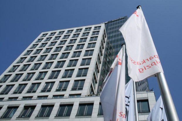 Sitz der Sparkasse Leipzig. Foto: Ralf Julke
