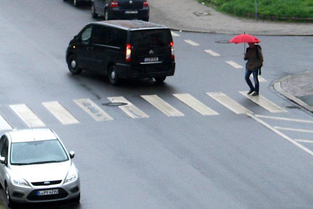 Zebrastreifen in der Bernhard-Göring-Straße. Foto: Ralf Julke