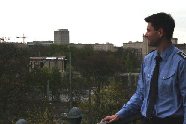 Andreas Loepki versuchts mit einem weiten Blick von der PD Leipzig aus. Foto: LZ