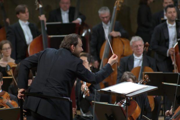 Dirigent Andris Nelsons. Foto: Alexander Böhm