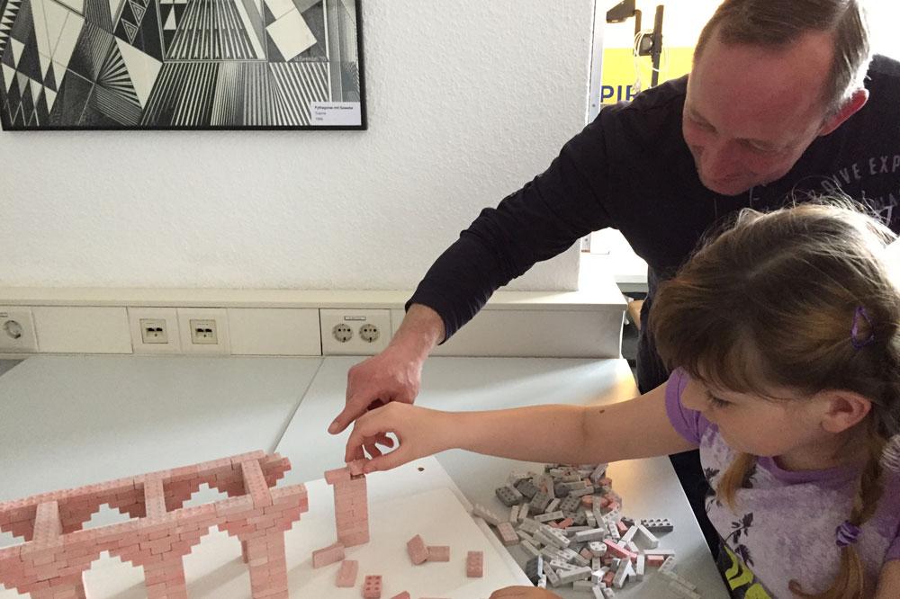 Familie Rauch vollendet ein Ausstellungsstück: Foto: INSPIRATA