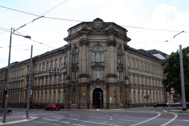 Die Polizeidirektion Leipzig am Eingang zum Süden von Leipzig. Foto: L-IZ.de
