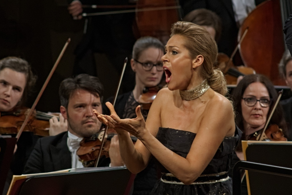 Sopranistin Kristine Opolais. Foto: Alexander Böhm