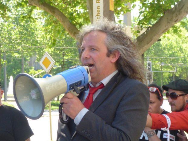 Thomas Kumbernuß (Die Partei). Foto: Lucas Böhme