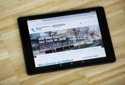Die Internetseite des Universitätsklinikums Leipzig präsentiert sich mit neuem Gesicht. Foto: Stefan Straube/UKL