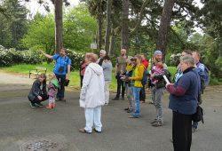 Exkursion zur Stunde der Gartenvögel auf dem Südfriedhof. Foto: Karsten Peterlein