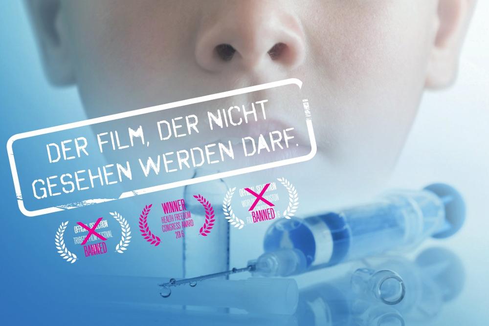 """Ausschnitt des Filmplakats. Foto: """"Vaxxed"""""""