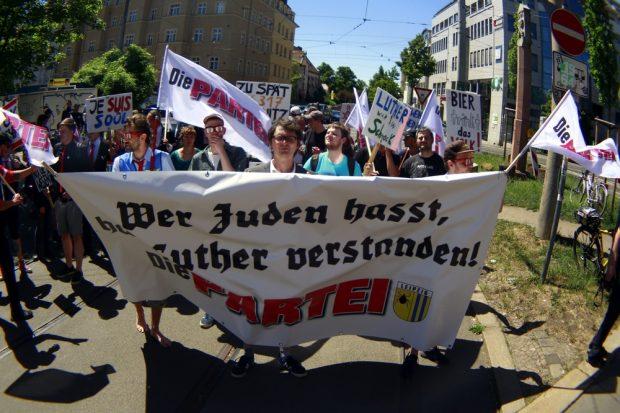 Wer Juden hasst, hat Luther verstanden. Foto: Alexander Böhm