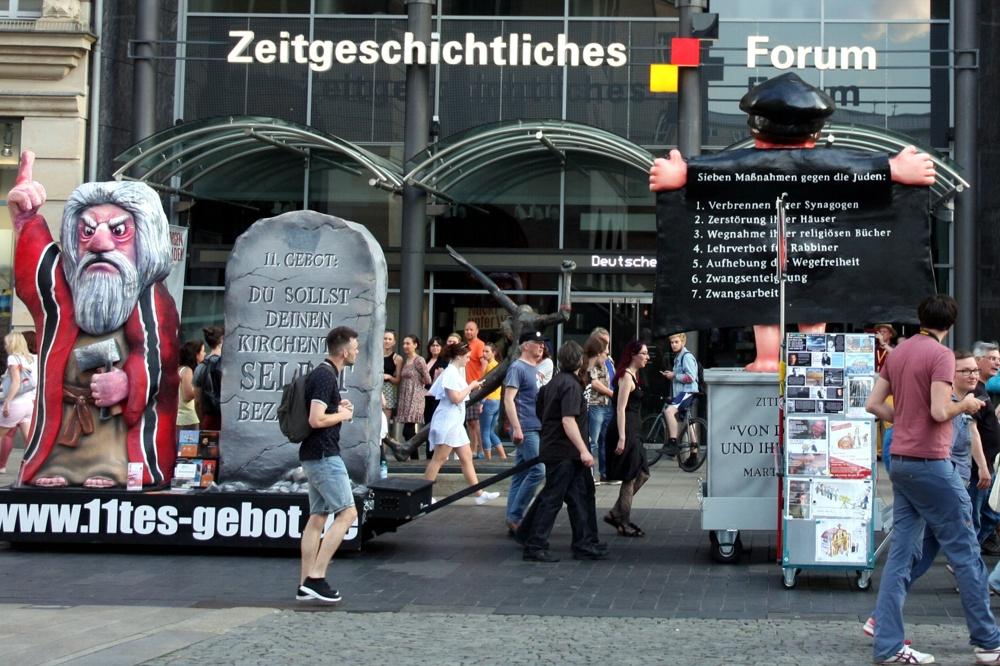Zeitgeschichtliches Forum mit lebendiger Zeitgeschichte. Foto: L-IZ