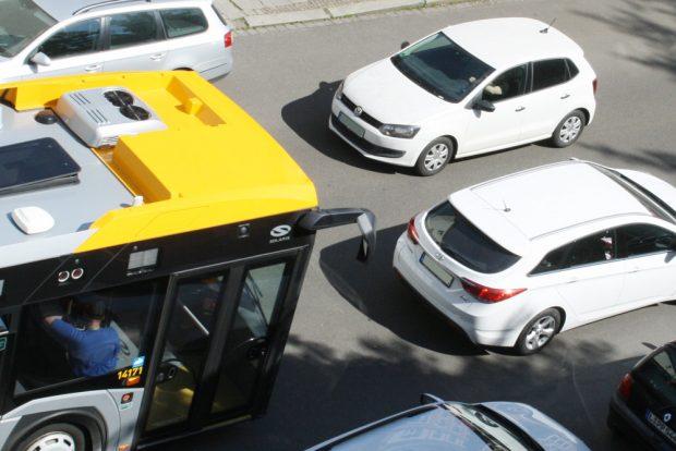 Kommen 2018 die ersten Fahrverbote für Dieselfahrzeuge in Leipzig? Foto: Ralf Julke
