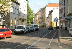 Georg-Schwarz-Straße. Foto: Ralf Julke