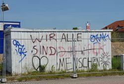 Sogar Graffiti können korrigiert werden. Foto: Marko Hofmann
