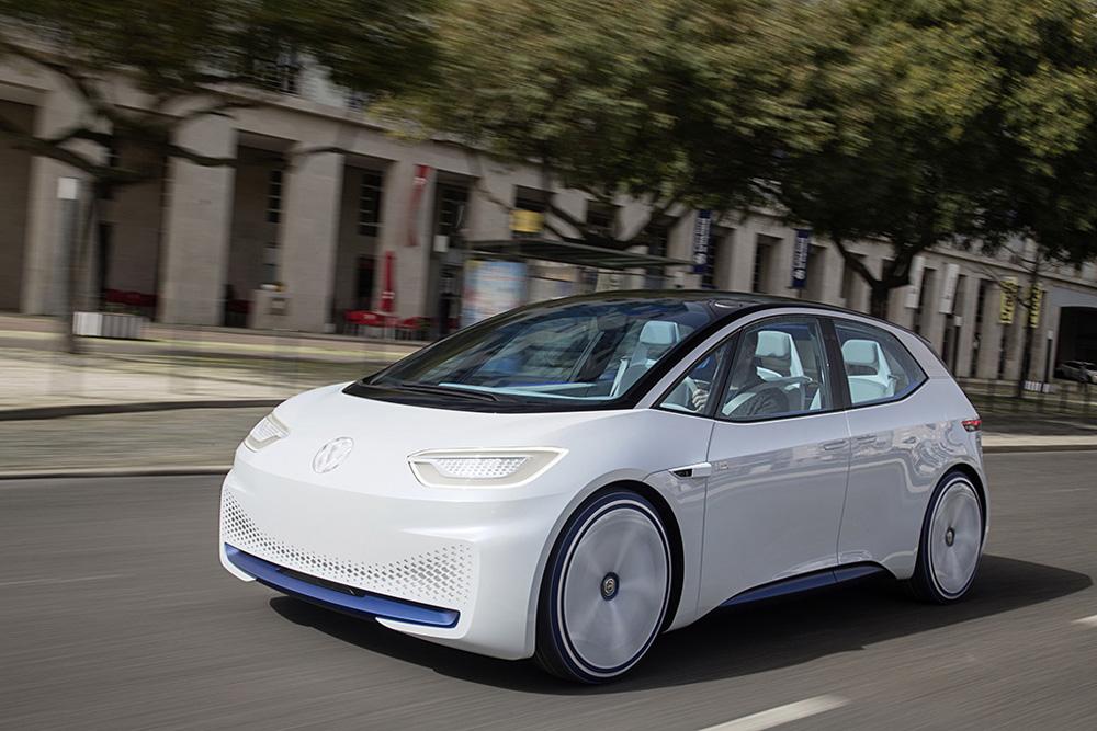 I.D.-Showcar von Volkswagen. Foto: Volkswagen