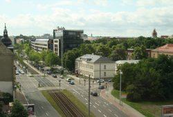 Blick über Leipzig nach Südosten. Foto: Ralf Julke