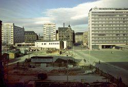 Blick vom Böttchergässchen zum Brühl (um 1966). Foto: Klaus Liebich